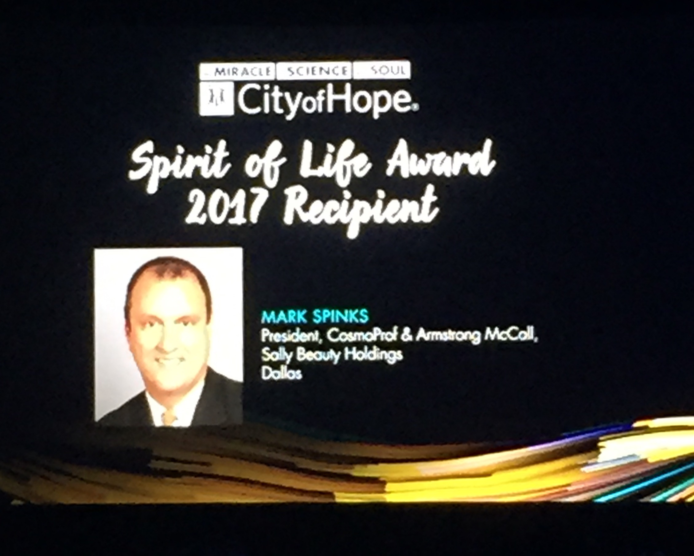 INSPIRE, Entrepreneurs and 2017 Spirit of Life Honoree Announced