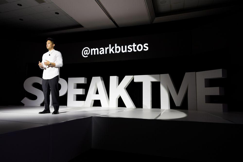 Mark Bustos at TME.