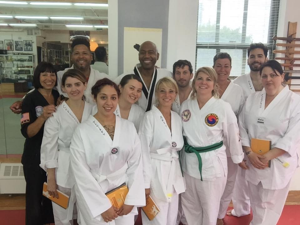Both Shannon and Allyson King, as well as their daughter Sydney, are students of the Martial Arts.