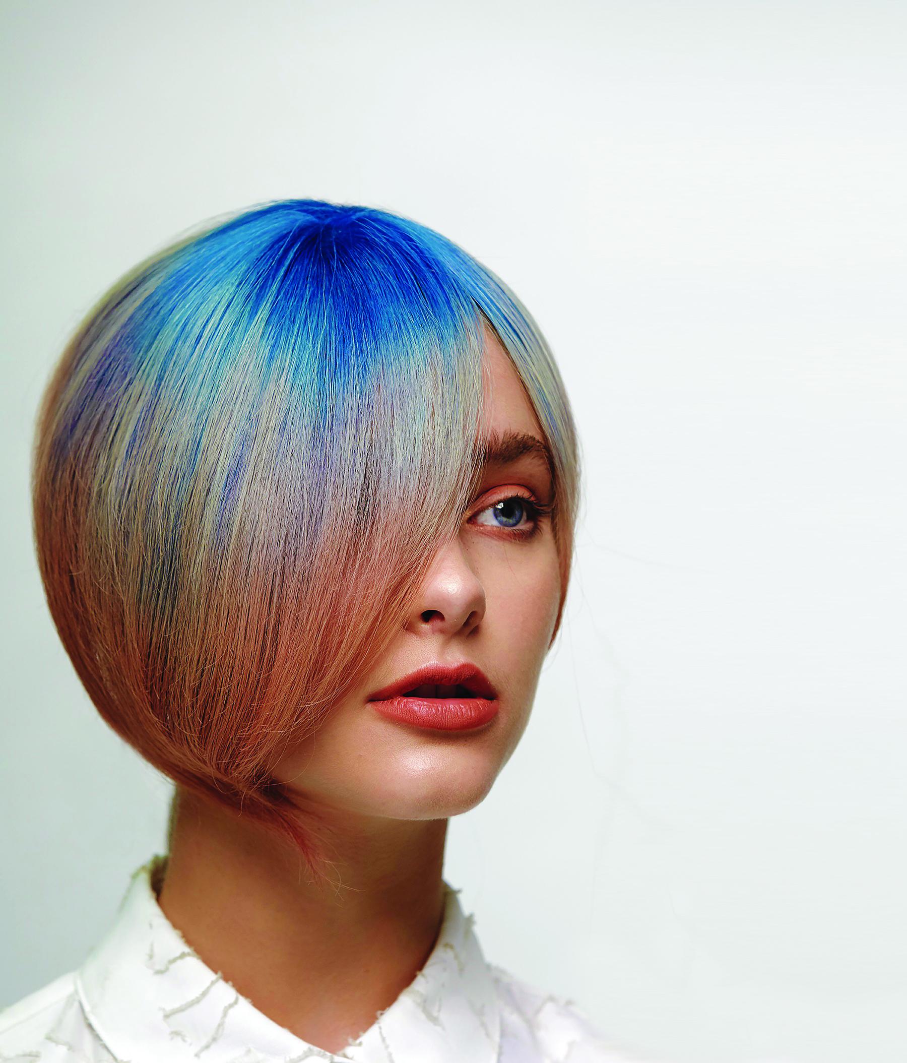 Color: Michael Albor, Matrix artistic director; Style: Constance Robbins, Matrix global artist Kolby Knight