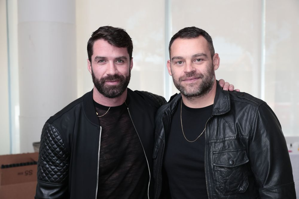 <strong>(Left to right) L'ANZA's Ammon Carver and Matt Swinney</strong>, <strong>L'ANZA</strong> Global Creative Director