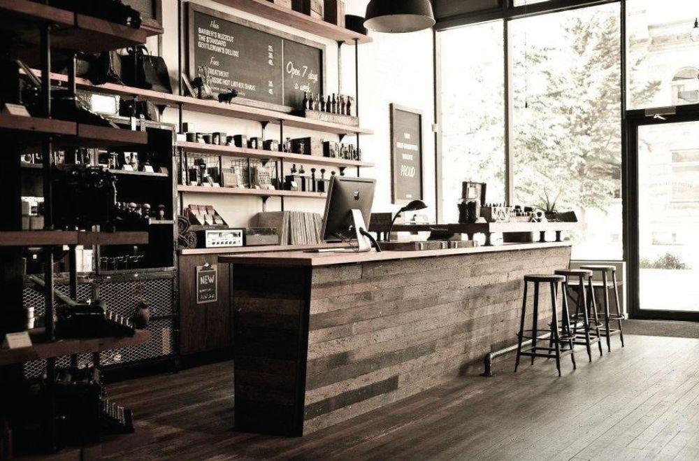 Matty Conrad's award-winning shop Victory Barber and Brand in Victoria, BC.