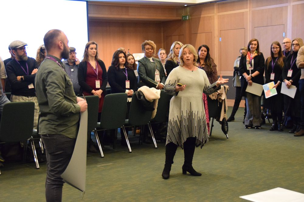 Phorest's Melanie Icke led attendees through the DISC analysis of personality types.