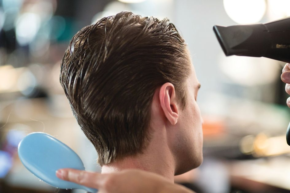 Tips And Techniques On Blow Drying Men S Hair Style Modern Salon