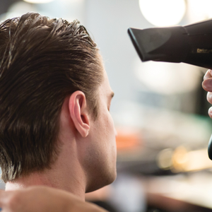 Tips and Techniques on Blow Drying Men's Hair