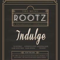 STAMP 2016: Salon Rootz' Salon Menu