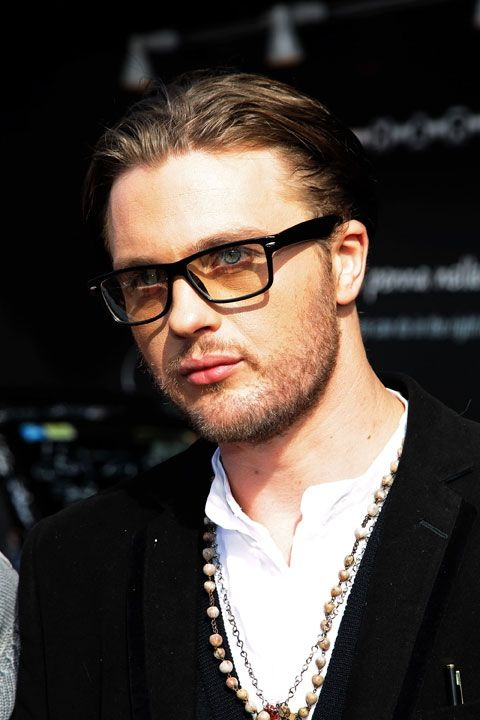 Actor Michael Pitt attends the Lancia Cafe during the 5th Rome International Film Festival.