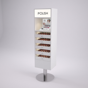 The Integrated Nail Polish Display from Michele Pelafas, Inc.