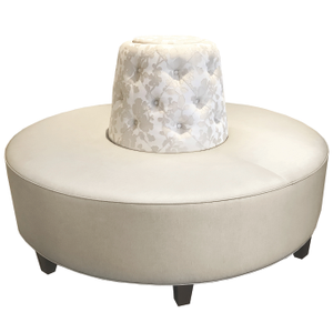 The Round Banquette Seating from Michele Pelafas