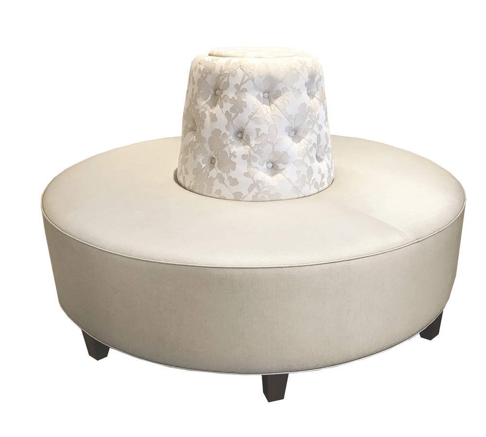 TheRound Banquette Seating by Michele Pelafas