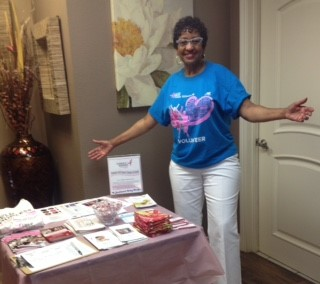Michelle Moore Bell at last spring's breast cancer awareness event.
