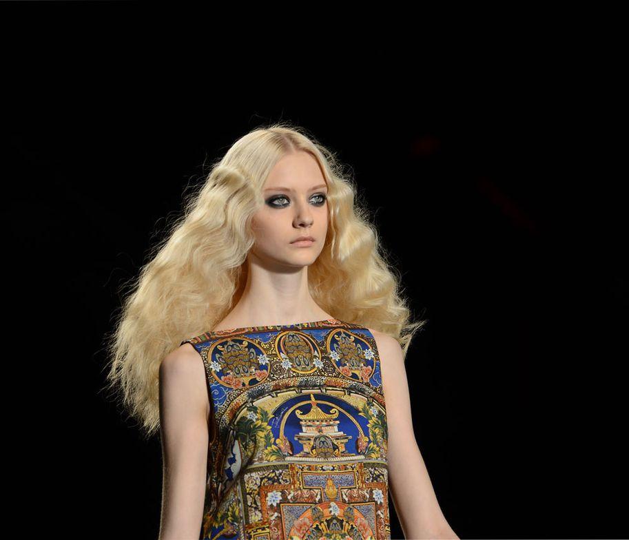 Just Cavalli 2013 Autumn/Winter Collection at Milan Fashion Week.