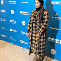 Sundance Film Festival 2019: Mindy Kaling by Brian Fisher Using Oribe