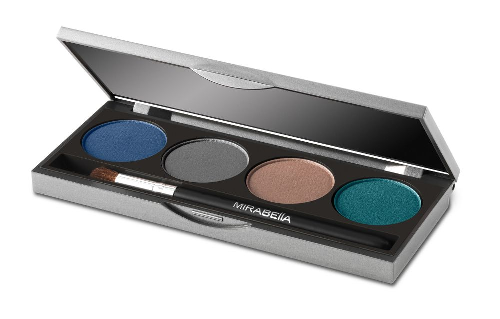Mirabella Beauty Winter Blues Eye Palette