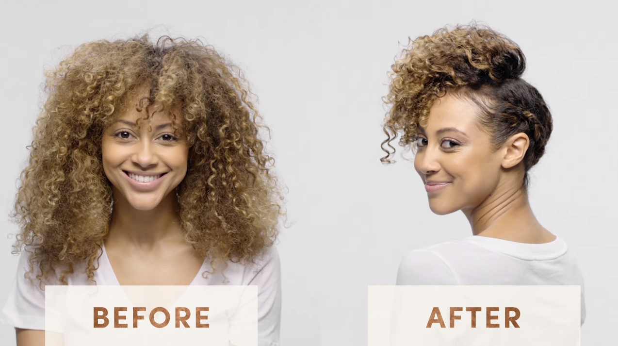 HOW-TO: Textured Glam Look by MIZANI