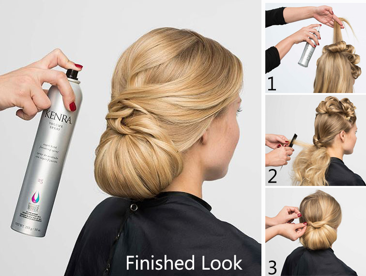 HOW-TO: Modern Chignon (With Steps!) by Kenra Professional