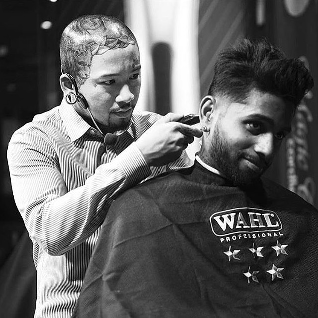Wahl Education & Artistic Team (W.E.A.T.) Member Julius 'Caesar' Arriola