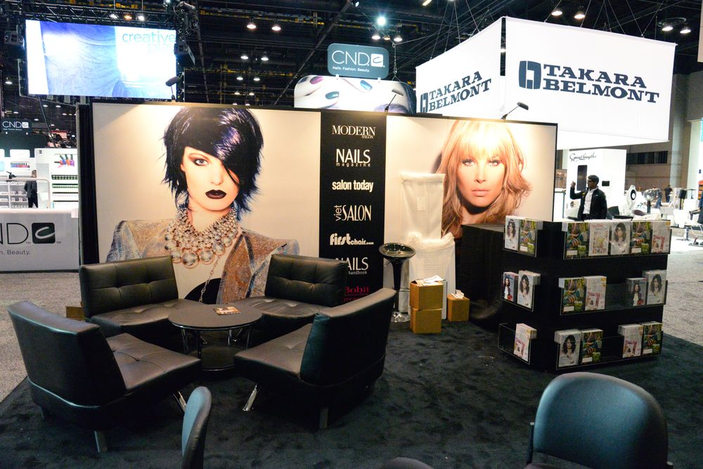 MODERN SALON and NAILS Magazine, Booth #4707