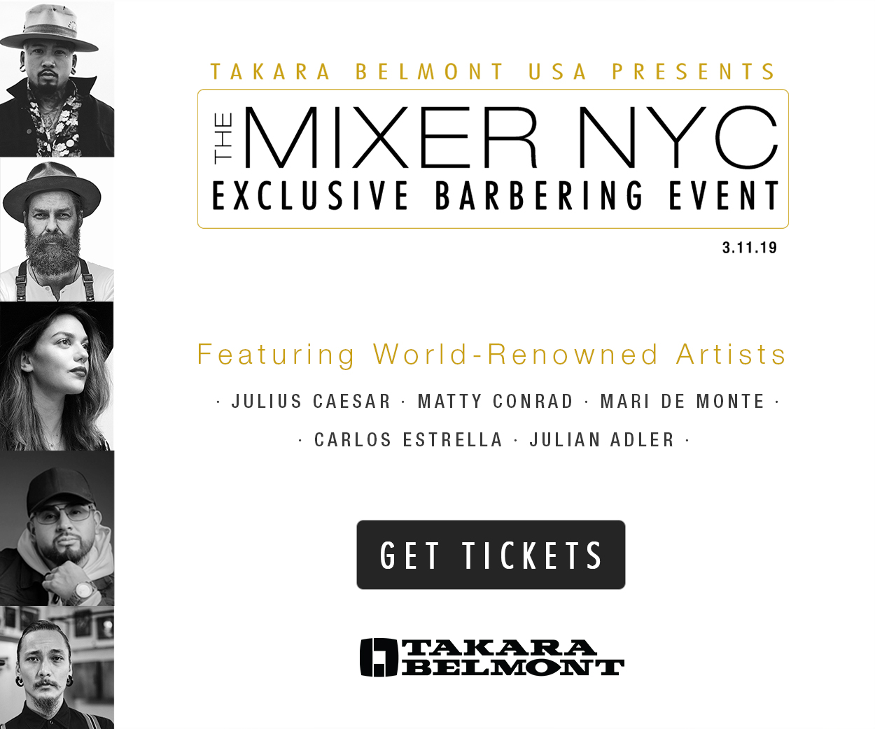 Takara Belmont USA to Host Second Annual 'The Mixer NYC' Event