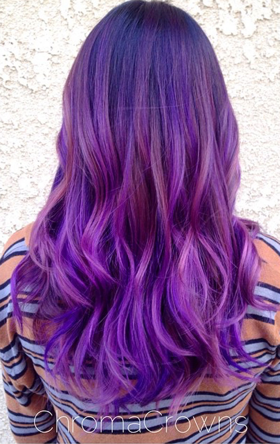 How-To: Mermaid-Inspired Purple