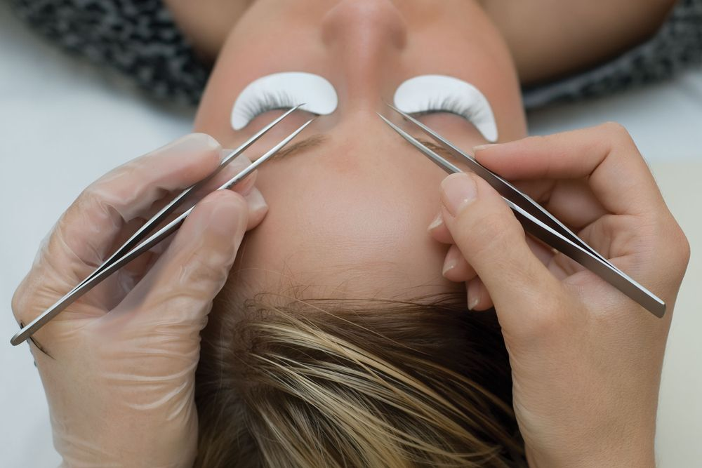 Single Lash Application with oil-proof and instantly waterproof eye lashes by NovaLash.