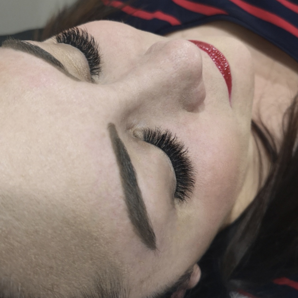 """<p><strong>""""This lash design can be enhanced with makeup or worn alone,"""" says Claire. """"Either way, lashes cut down on the time it takes to get ready.""""</strong></p>"""