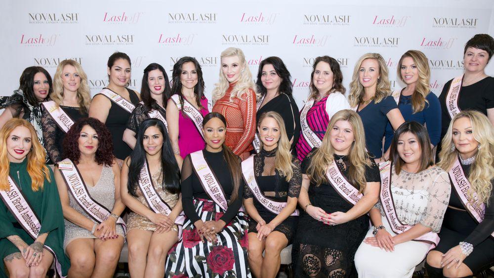 NovaLash 2017 Brand Ambassadors withMerszei.