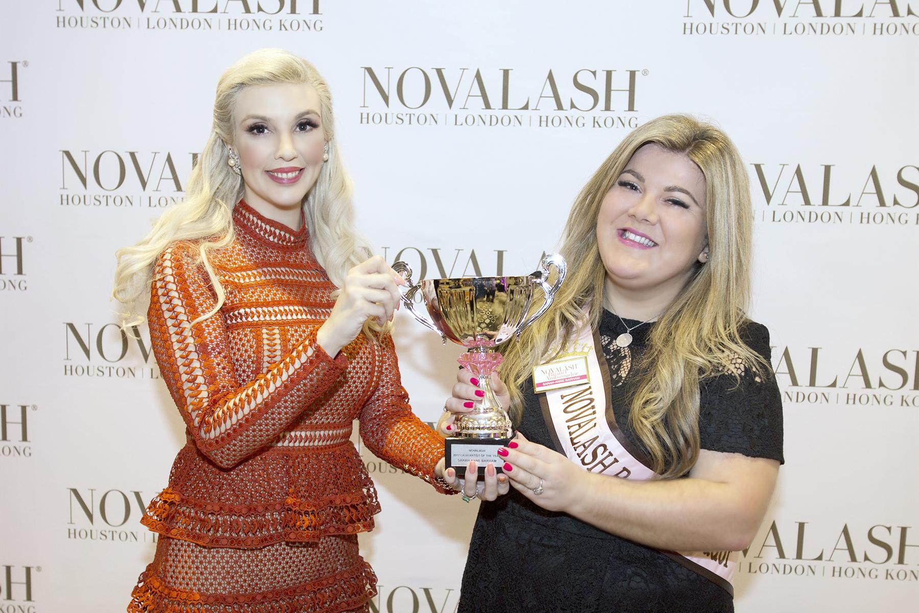 NovaLash Names 2017 LASHoff Lash Artist of the Year