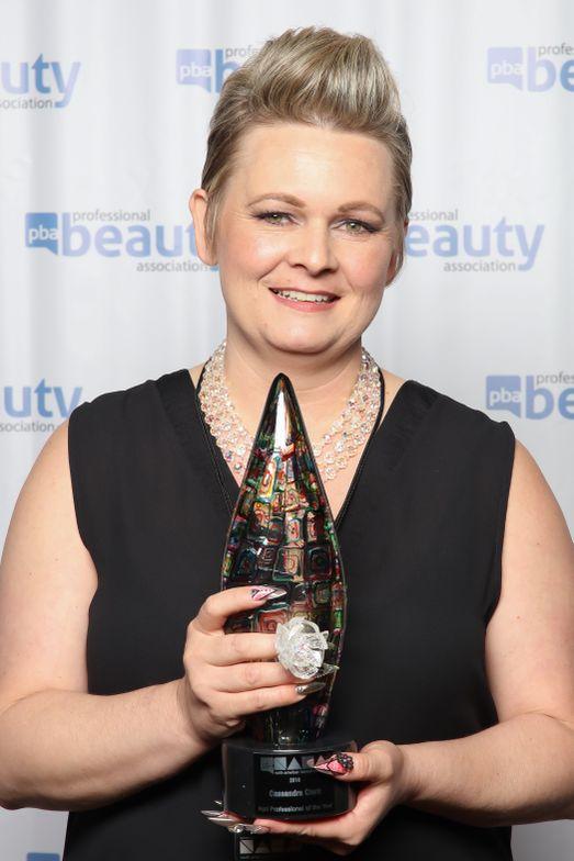 NAHA 2016 Nail Professional of the Year Cassandra Clark