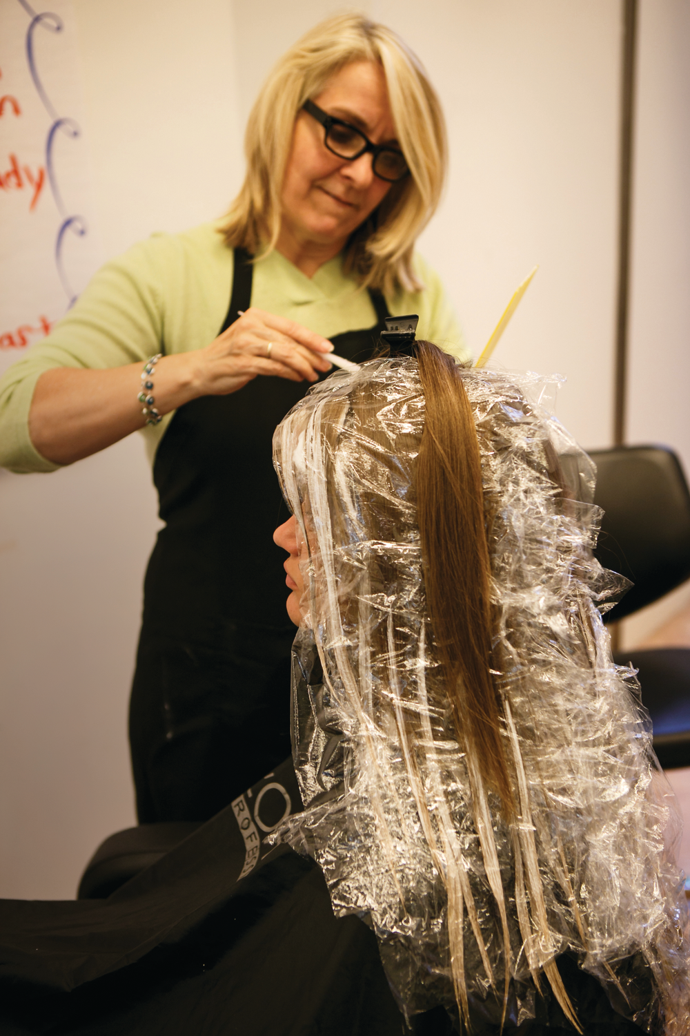 When balayage expert Nancy Braun first came across the French highlighting technique, she fell in love with the sun-kissed look and devoted herself to converting all her foil clients.