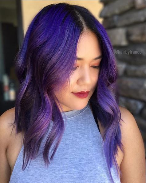 @hairbyfranco used Pulp Riot in Jame, Nirvana, Candy, Smoke and Nightfall.