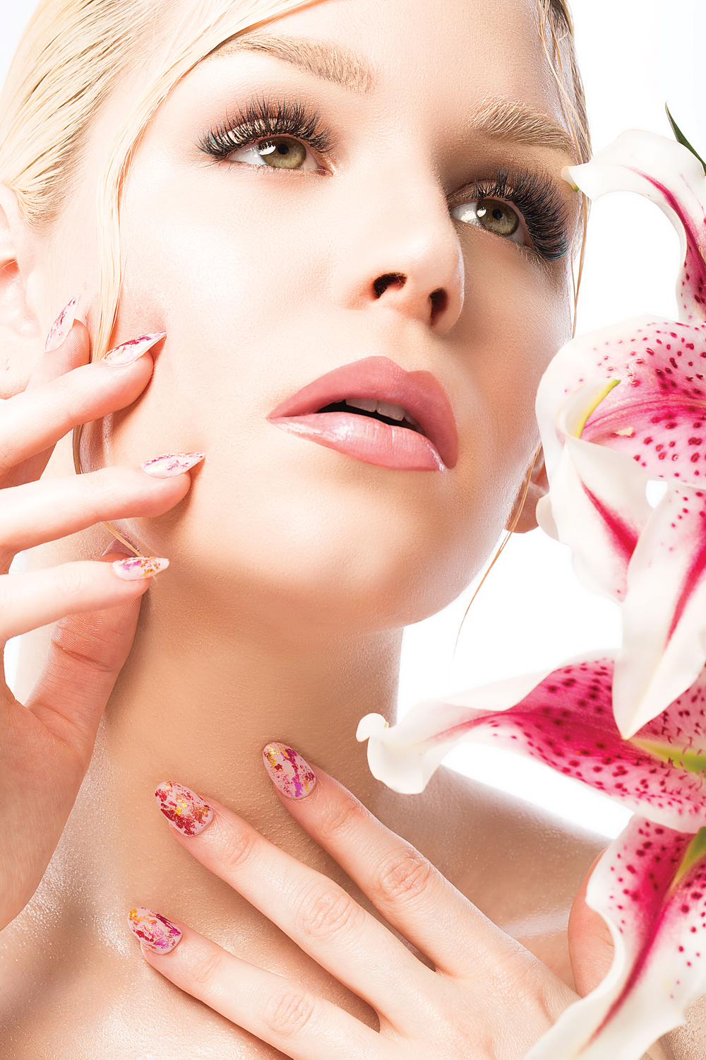 """The collection is called """"Details in Full Bloom,"""" zeroing in on lashes, nails and makeup alongside gorgeous flowers."""