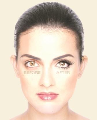 Lower NovaLash Extensions Frame Eyes Beautifully