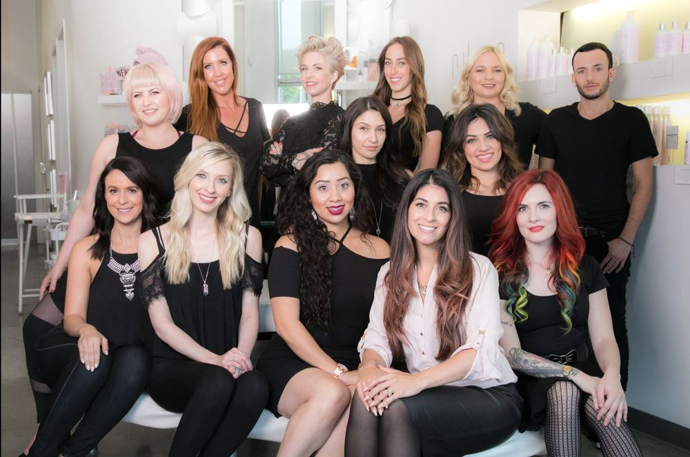 The team from Salon Nuuvo in Calabasas, CA.
