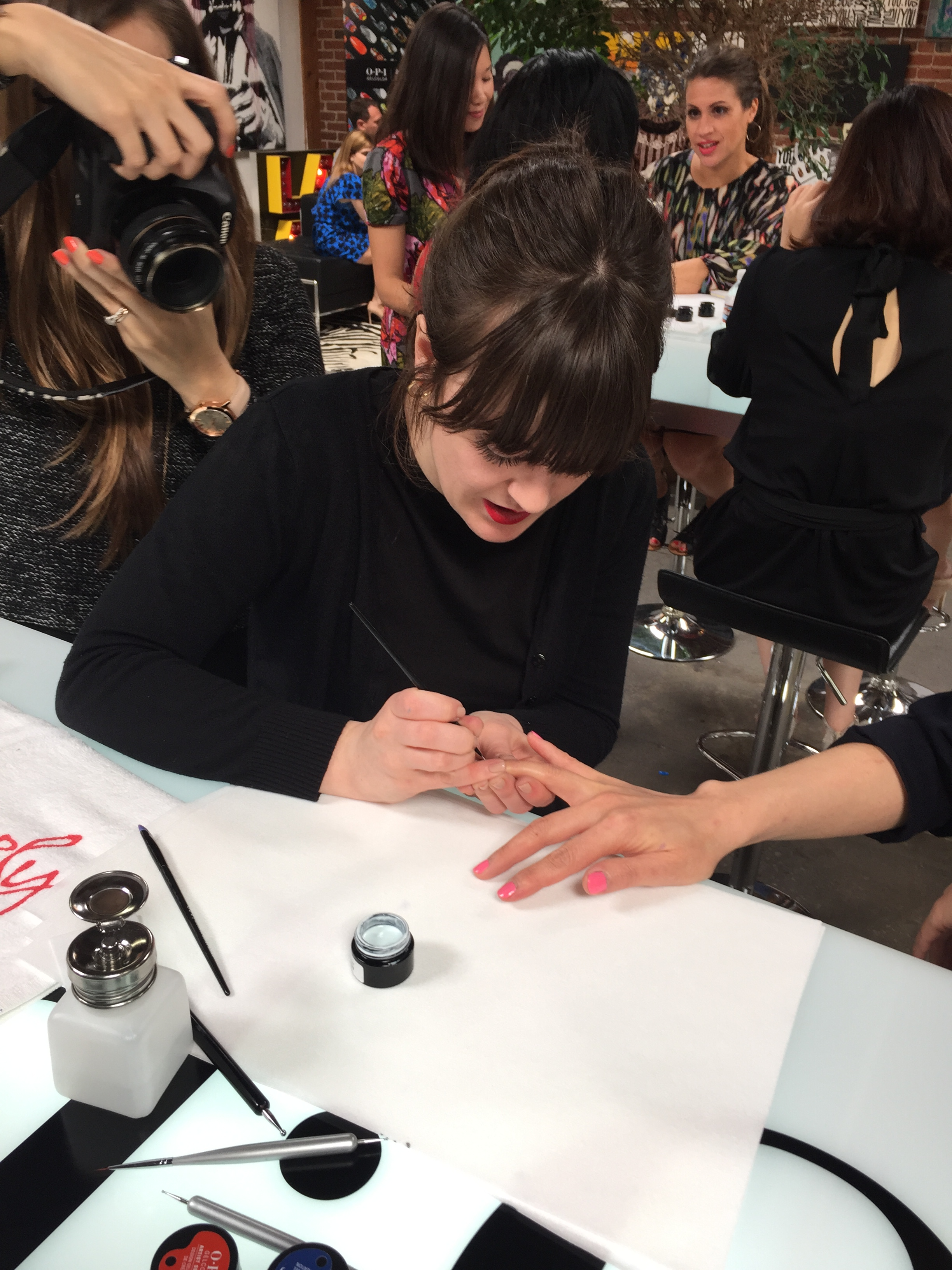OPI Debuts GelColor Artist Series at LA Launch Event