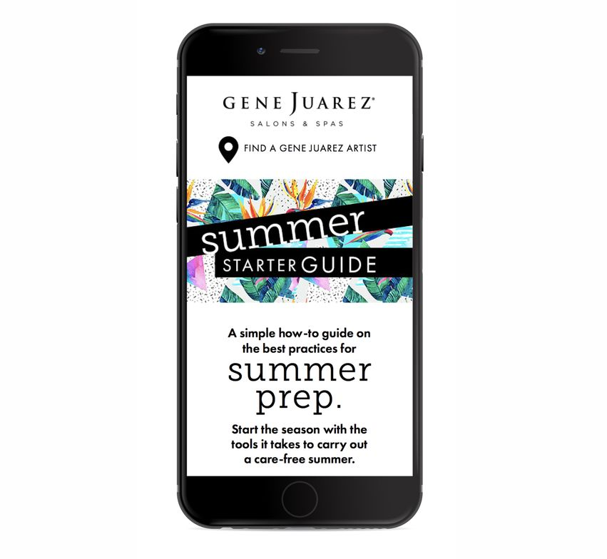 <strong>Gene Juarez Salons &amp; Spas' online magazine </strong>