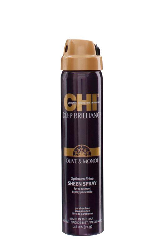 <strong>CHI Deep Brilliance Olive &amp; Monoi Optimum Shine Sheen Spray</strong>