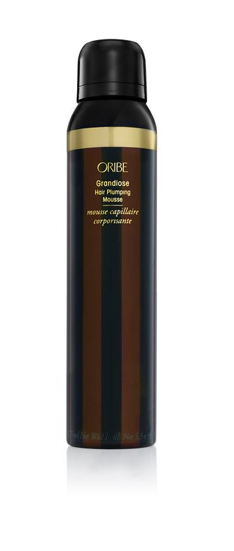 "<p>""Oribe Grandiose smells amazing without being overpowering— pretty much perfume for your hair. It's dense enough to keep its shape while you blowout the hair to provide amazing volume, but light enough it doesn't give you that tacky feeling.""</p> <p>-@<a href=""https://www.instagram.com/kezliejones/""><strong>kezliejones</strong></a></p>"