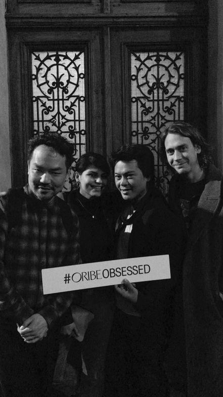 Left to Right: Oribe Educators Kien Hoang, Mandee Hernandez, Dan Nguyen and Orbie Global Ambassador James Pecis