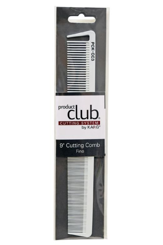 "9"" Cutting Comb - Fine tooth"