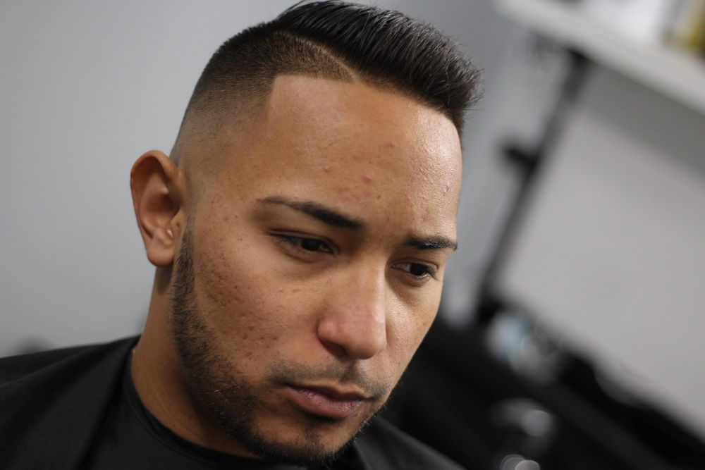 <p>Today's men want a sharp line up and a tailored blend to their beards.</p>