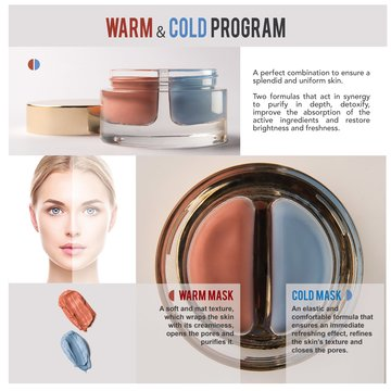 COSMOPACK: Pink Frogs Cosmetics. Warm & Cold Program