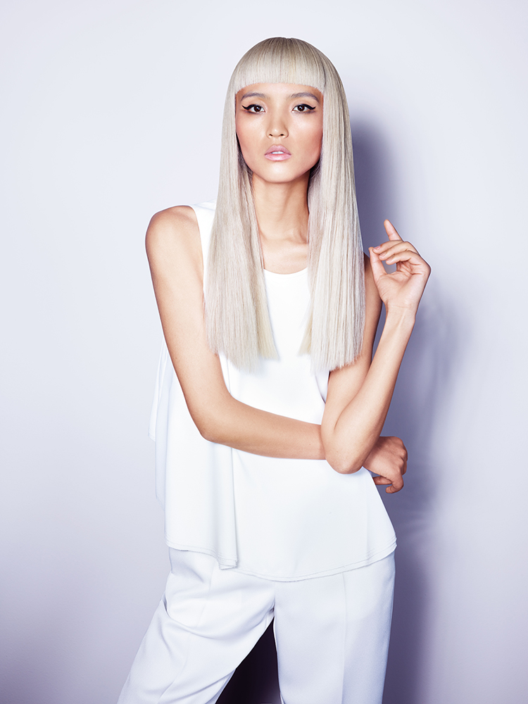"How-To: Dark to Light—Get this ""Platinum Purity"" Look with New BLONDME with Integrated Bonding Technology"