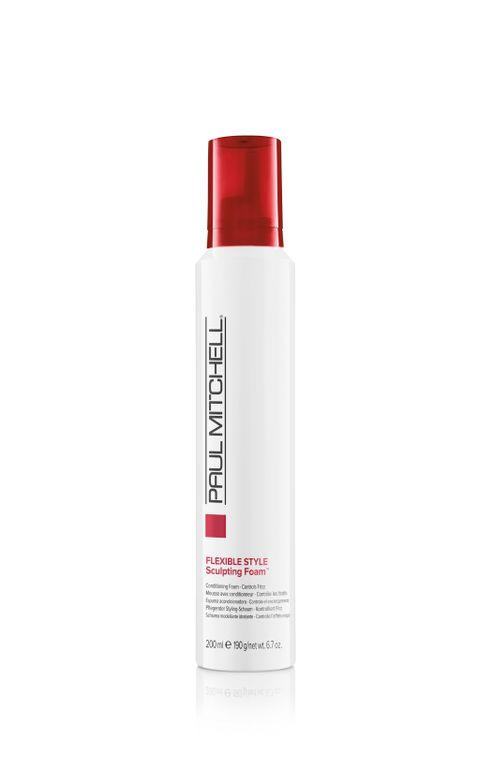 "<p> ""Paul Mitchell Full Body Sculpting Foam! It's great for a blowout because it gives it the right amount of bounce without being too stiff or too heavy. Also great for a natural curl because it gives it definition and shine without the sticky feeling.""</p> <p>-<strong> @beautybysakaj</strong></p>"