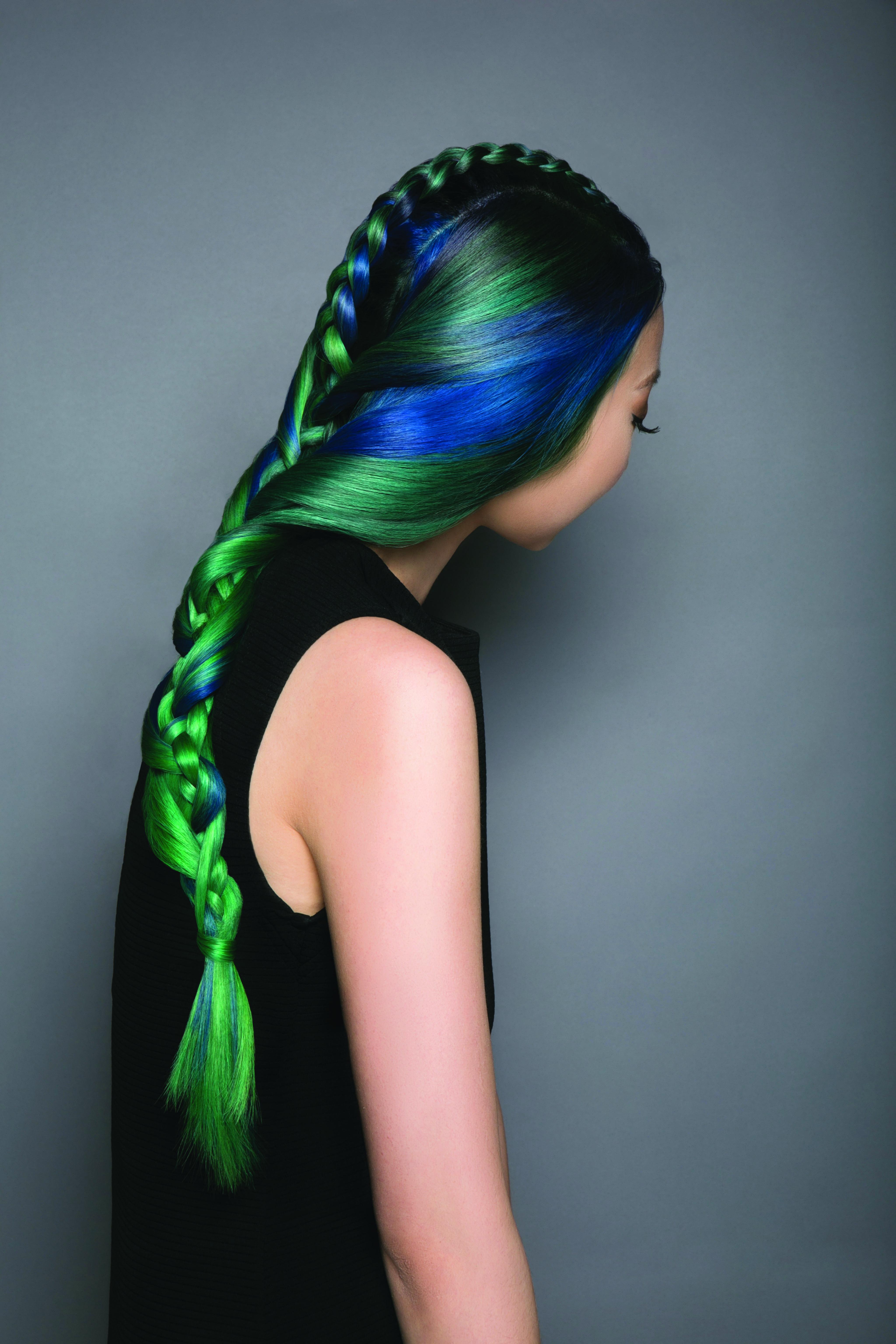 HOW-TO: Pops of Jewel Tones Using Pravana Haircolor