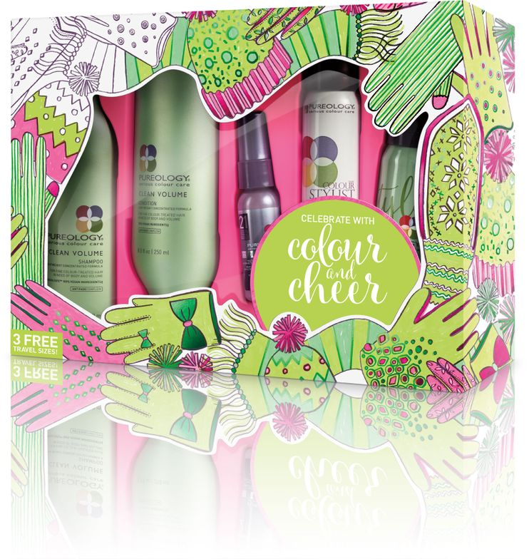 <strong>NEW! Clean Volume Holiday Gift Set Includes:</strong>Clean Volume Shampoo, Clean Volume Condition, NEW! Clean Volume Weightless Mousse, Colour Fanatic Multi-Tasking Beautifier, Colour Stylist Supreme Control maximum hold zero-dulling hairspray