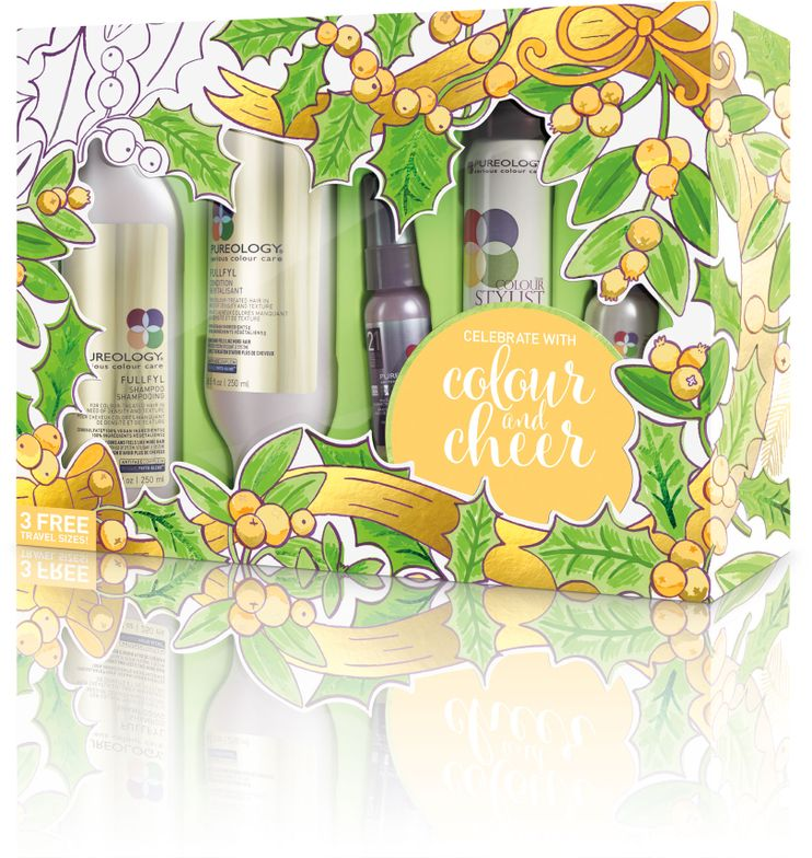 <strong>Fullfyl Holiday Gift Set Includes:</strong>FullFyl Shampoo, FullFyl Condition, FullFyl Densifying Spray, Colour Fanatic Multi-Tasking Beautifier, Colour Stylist Supreme Control maximum hold zero-dulling hairspray