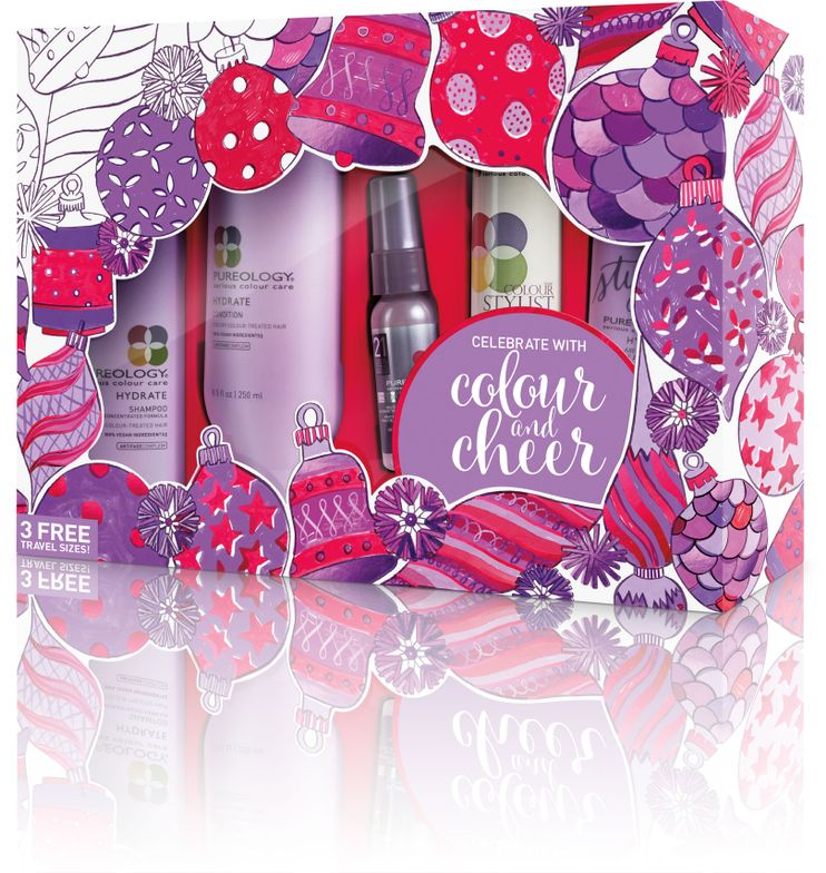 <strong>Hydrate Holiday Gift Set Includes:</strong>Hydrate Shampoo, Hydrate Condition, NEW! Hydrate Air Dry Cream, Colour Fanatic Multi-Tasking Beautifier, Colour Stylist Supreme Control maximum hold zero-dulling hairspray