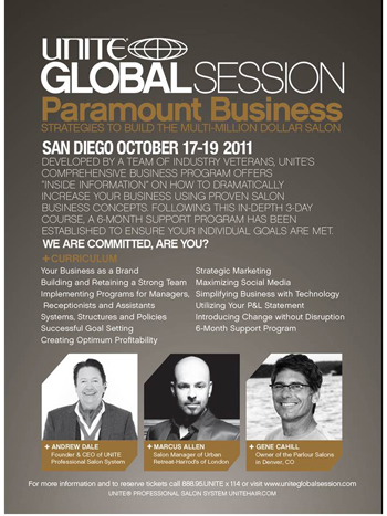 Unite Presents Paramount Business at Global Session