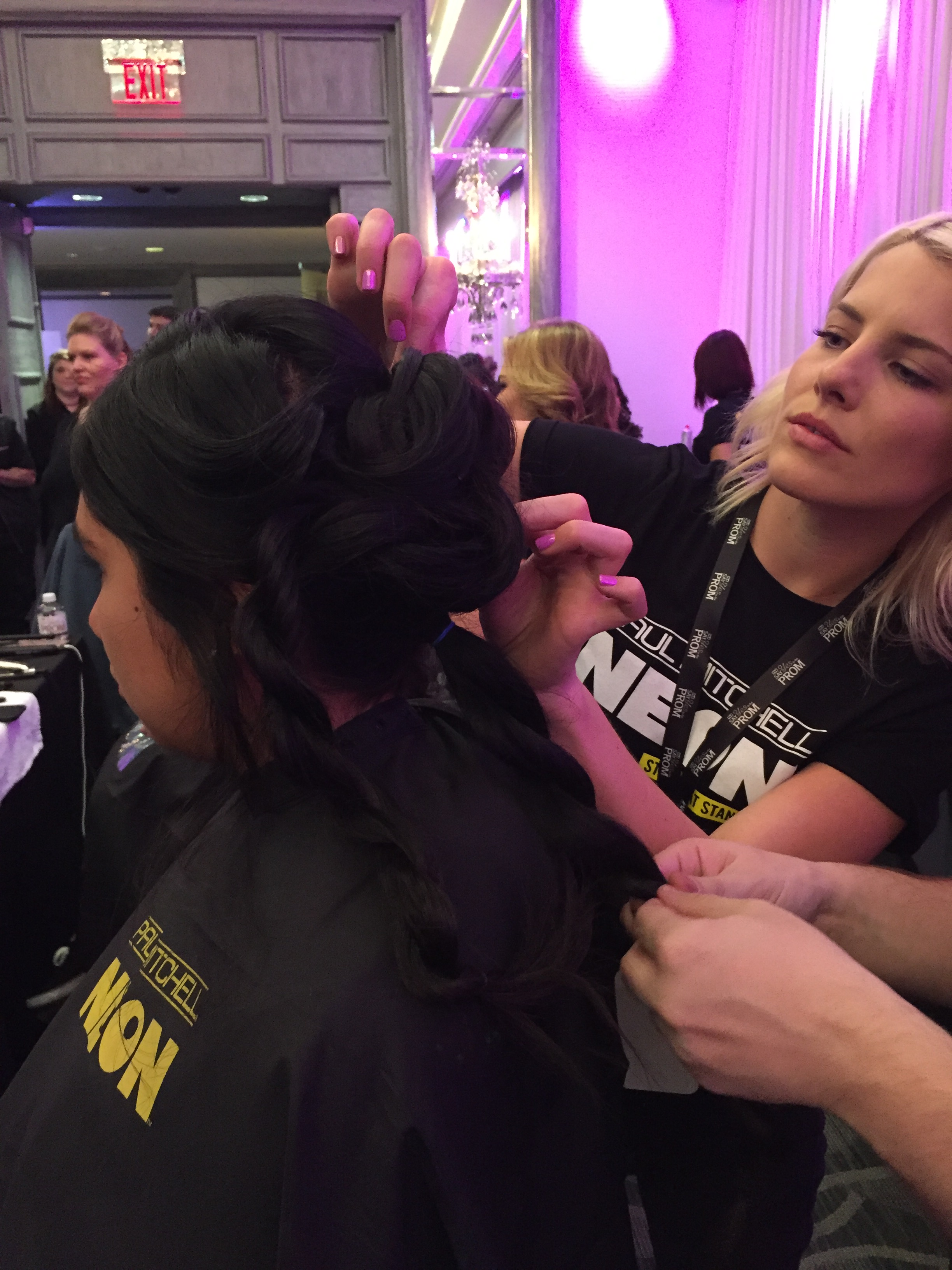 Paul Mitchell Future Professionals Prepare Students for the Prom with Makeovers and Mentoring